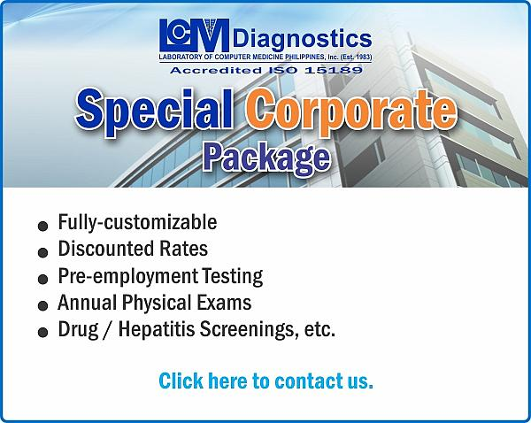 LCM Diagnostics - Special Corporate Package